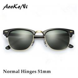 b36eb8f8ccc AOOKO Hot Sale Designer Brand Sunglasses Master Men Sun Glasses Women  Outdoor Semi Rimless Retro Sunglass Gafas de sol Sunglas 51mm 393861335